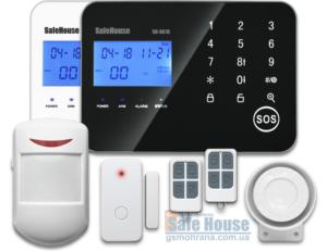 GSM сигнализация для офиса и дома SH-061GP | GSM сигналізація для офісу і дому SH-061GP