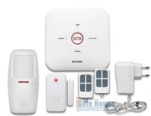 GSM сигнализация для дачи и дома SH-036G