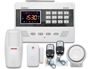 Беспроводная GSM сигнализация SH-053G | Бездротова GSM сигналізація SH-053G