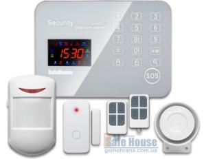 Комплект GSM сигнализации SH-055G | Комплект GSM сигналізації SH-055G