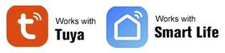 "Беспроводная WIFI сигнализация SH-010W совместима с приложениями ""Tuya Smart"" и ""Smart life"""