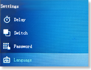 GSM WIFI сигнализация SH-012GW поддерживает 11 языков