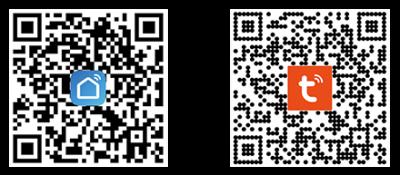 "QR-коды на приложения ""Smart Life"" и ""Tuya"""