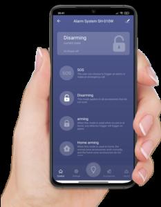 Приложение для управления WIFI сигнализации «SafeHouse WIFI Smart Siren»