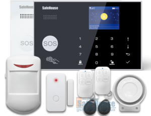Система GSM WIFI сигнализации SH-030GW | Система GSM WIFI сигналізації SH-030GW